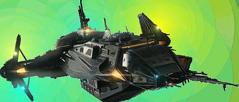 ASW Frigate Class space ship